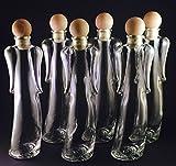 12 x 200ml Angelica Leere Glasflaschen -...