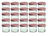 25er Set Sturzglas 125 ml Marmeladenglas...