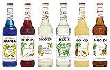 Monin Cocktail Set (6 x 0.7l Flaschen: Curacao...