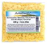 100% reine Bienenwachs Pastillen Bio, gelb, 100 g,...