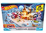 Hot Wheels FKF95 - Adventskalender 2018, mit 8...