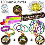 100 Knicklichter 7-FARBMIX, Testnote: 1,4 'SEHR...