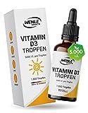 Vitamin D3 Laborgeprüfte 5000 IE pro Tropfen...