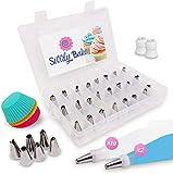 Swirly Bake 50 Teiliges Spritztüllen Set. 30x...