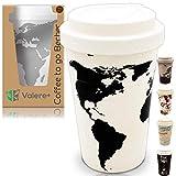 Valere + Coffee-to-Go Bambus-Becher mit...