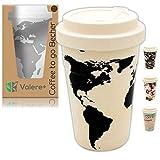 Valere + Coffee to go Bambus-Becher mit...