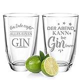 GRAVURZEILE 2er Set Montana GIN-Gläser - Der...
