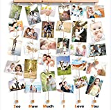 Love-KANKEI SHMILY Bilderrahmen Collage Fotorahmen...