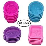 20 Stück Silikon-Seife, die Formen, quadratische...