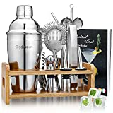Cocktail Set, Godmorn Edelstahl Cocktail Shaker...