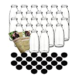 gouveo 24er Set Saftflaschen 250 ml incl....