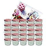MamboCat 25er Set Sturzglas 230 ml Marmeladenglas...