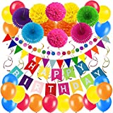 Zerodeco Geburtstag Partei Dekoration, Happy...