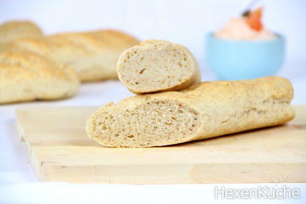 Dinkel - Weizen Baguette