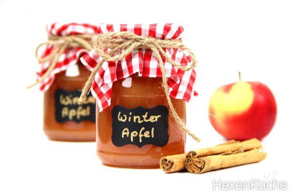 Winter-Apfel-Konfitüre