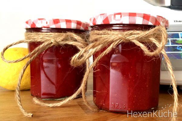Samtige Erdbeer Marmelade