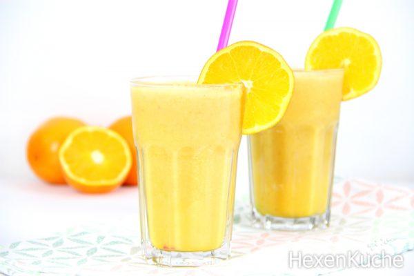 Apfel-Bananen-Orangen Smoothie