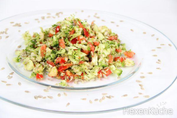 Brokkoli Rohkost Salat