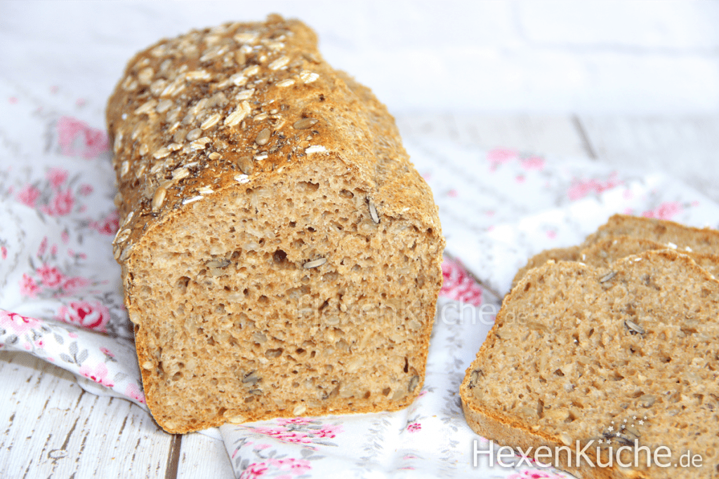 5 Minuten Vollkornbrot   Das schnellste Brot der Welt   Thermomix Rezepte
