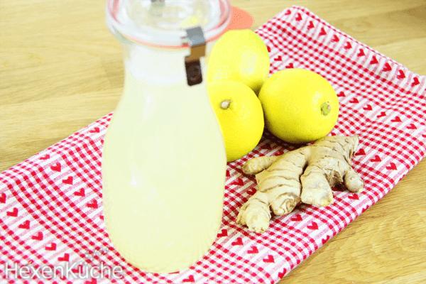 Zitronen-Ingwer-Sirup