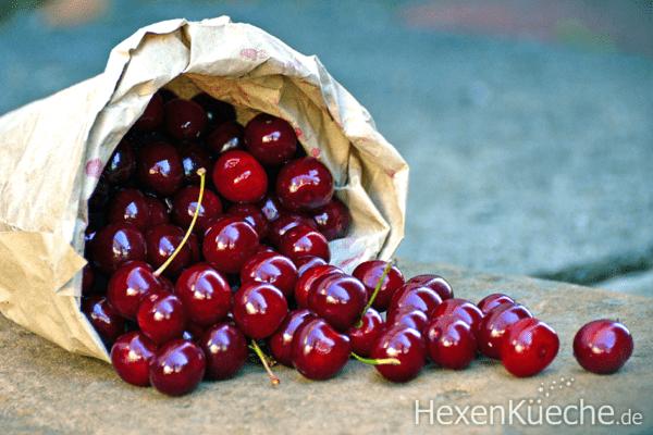 Kirschen entsteinen im Thermomix - für Marmelade oder Sirup
