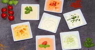 Dips, Raclette Dips, Raclette Saucen, 1 Grund Dip viele Möglichkeiten