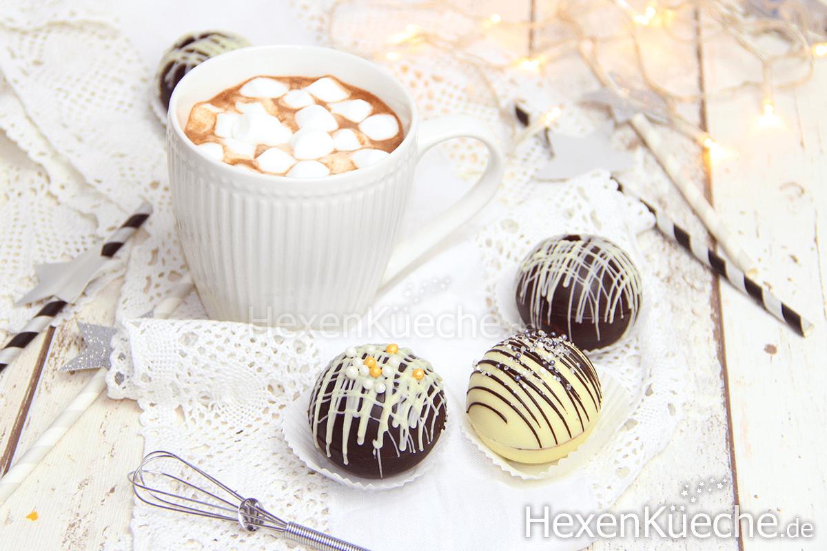Heiße Schokolade Bomben - Hot Chocolate Bombs, Tik Tok Trend Hype