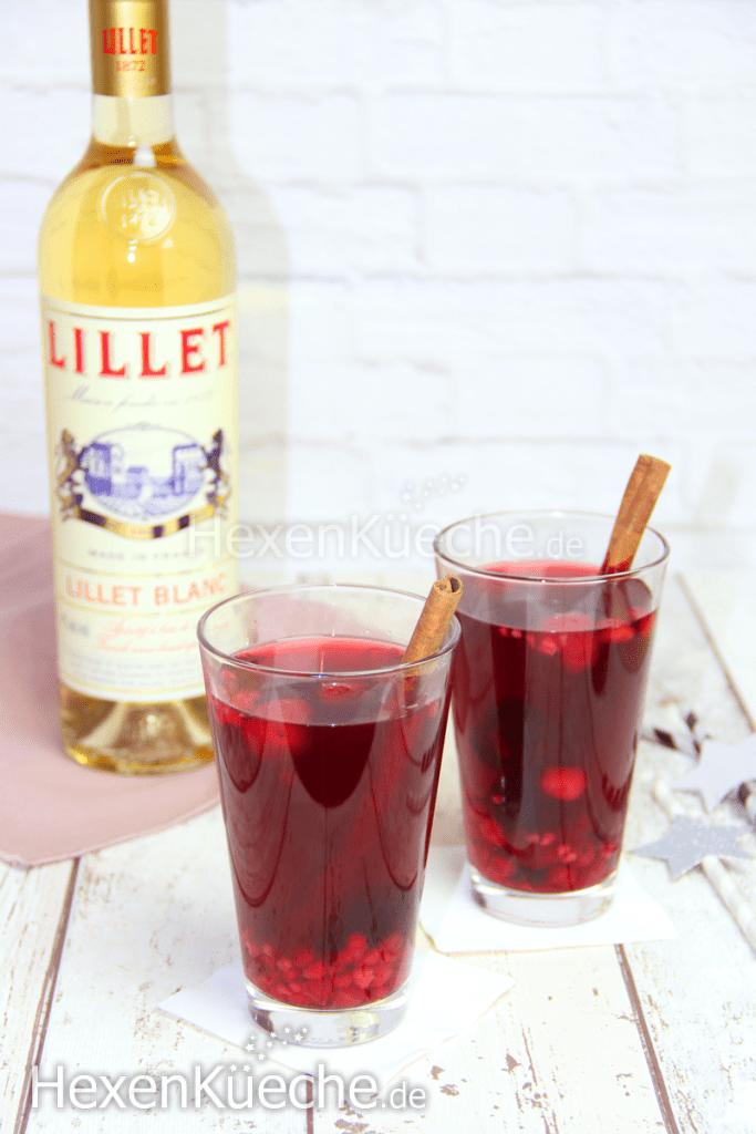Lillet Hot Berry Cocktail Rezept Thermomix